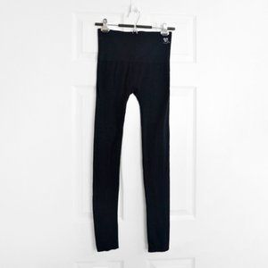 "3/$30 🌞 Know Me Black stretch leggings 25"""